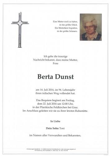 Berta Dunst
