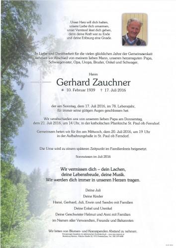 Gerhard Zauchner