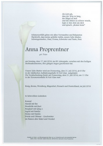 Anna Proprentner