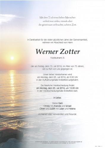 Werner Zotter