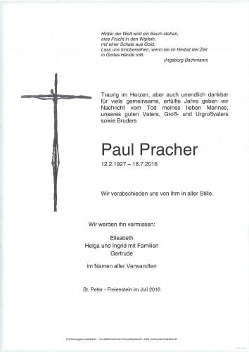 Paul Pracher