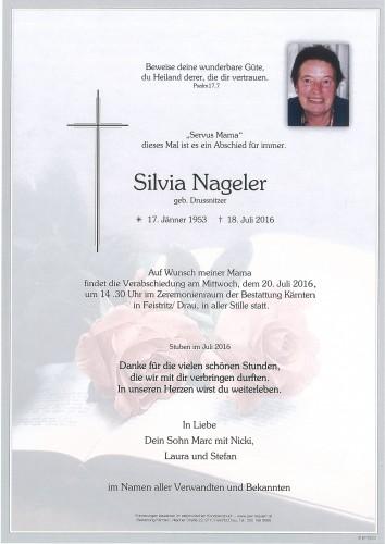 Silvia Nageler geb. Drussnitzer