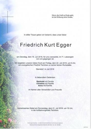 Friedrich Kurt Egger