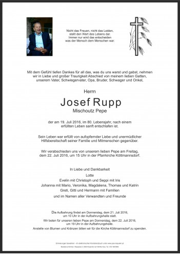 Josef Rupp