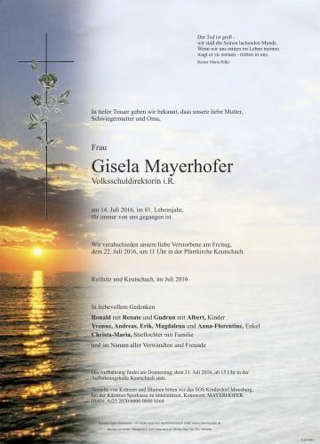 Gisela Mayerhofer