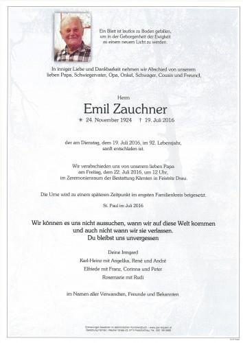 Emil Zauchner