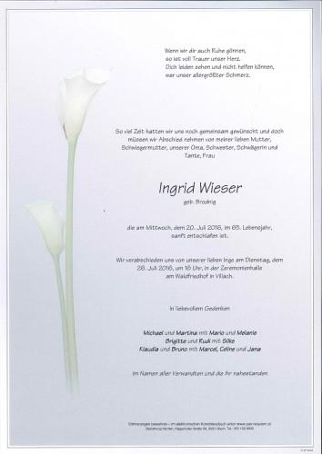 Ingrid Wieser