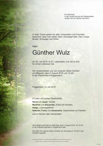 Günther Wulz