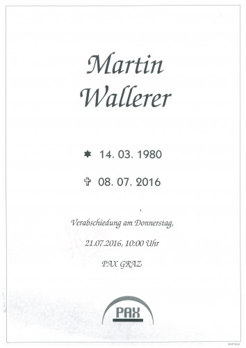 Martin Wallerer