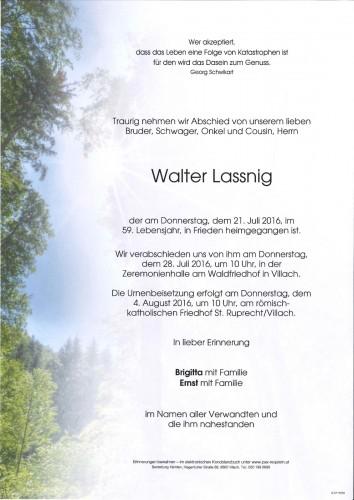 Walter Lassnig