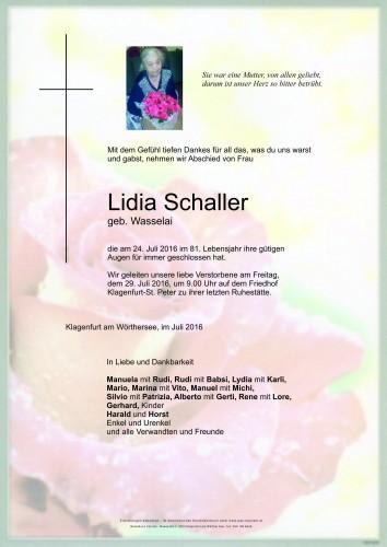 Lidia Schaller