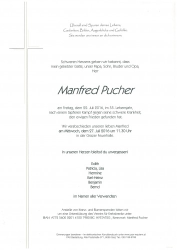 Manfred Pucher