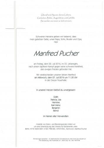Manfred Pucher