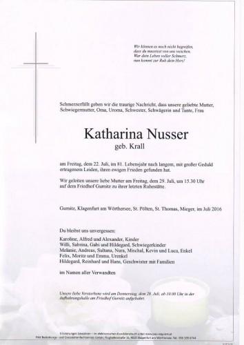 Katharina Nusser