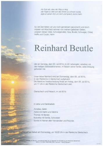 Reinhard Beutle