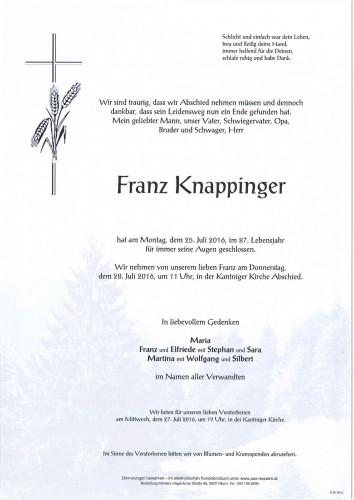 Franz Knappinger