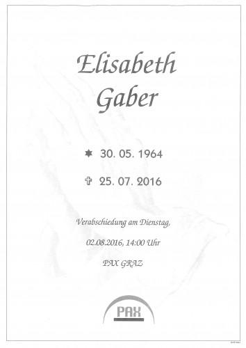 Elisabeth Gaber