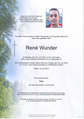 René Wunder