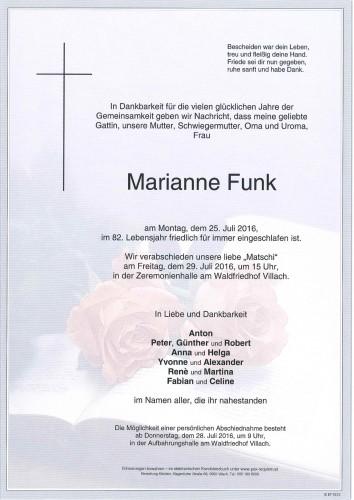 Marianne Funk