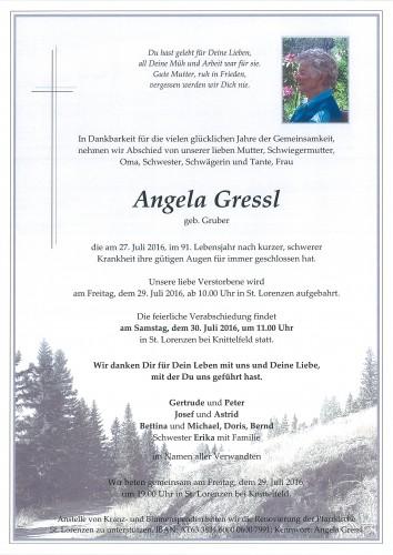 Angela Gressl