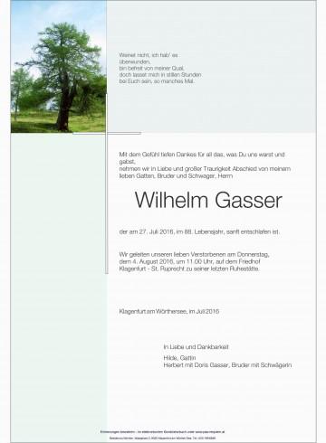 Wilhelm Gasser