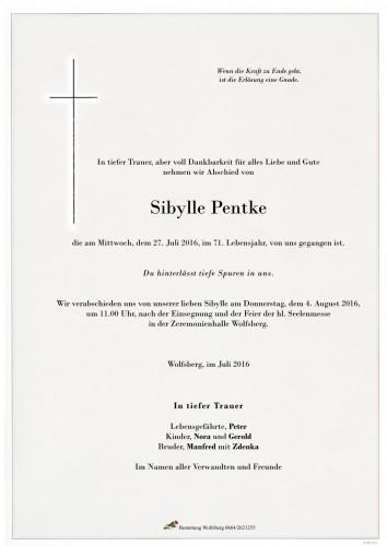Sibylle Pentke
