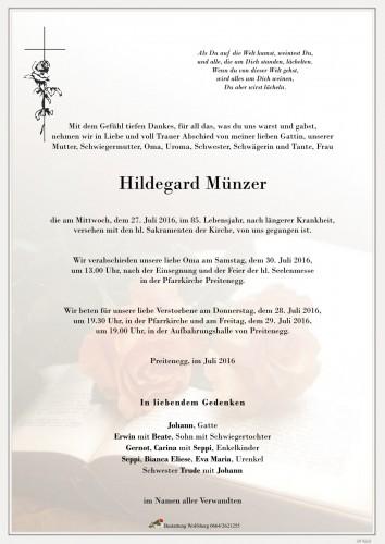 Hildegard Münzer