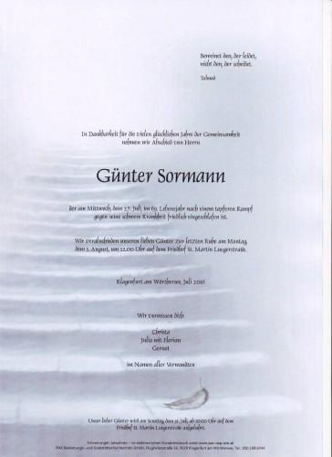 Günter Sormann