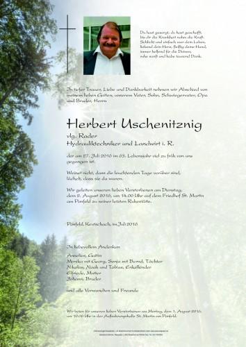 Uschenitznig Herbert