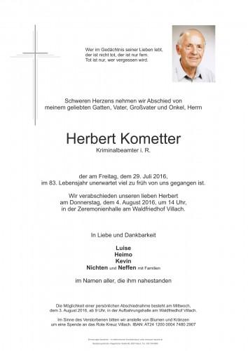 Herbert Kometter