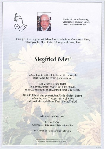 Siegfried Merl