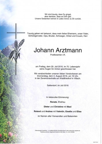 Johann Arztmann