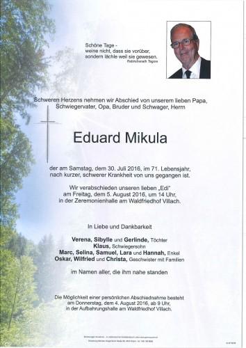 Eduard Mikula