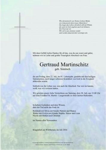 Gertraud Martinschitz