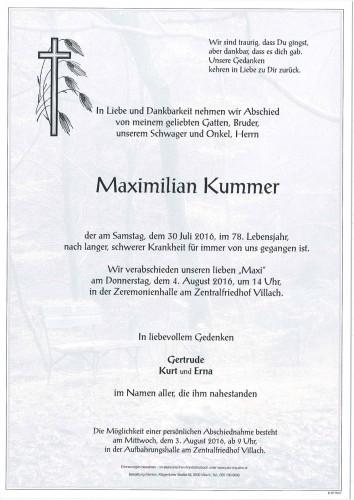 Maximilian Kummer