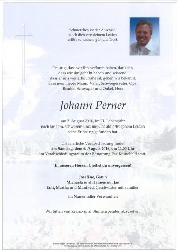 Johann Perner