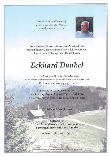 Eckhard Dunkel