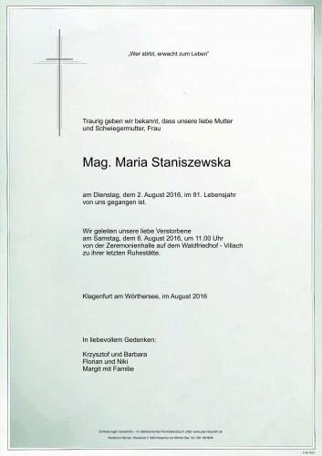Maria Jadwiga Staniszewska