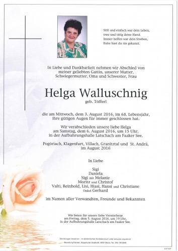 Helga Walluschnig