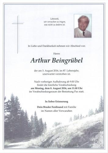 Arthur Beingrübel