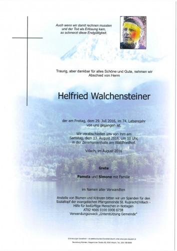 Helfried Walchensteiner