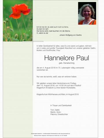 Hannelore Paul