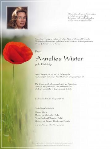Anneliese Wister