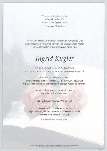 Ingrid Kugler
