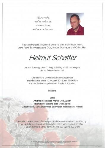Helmut Schaffer
