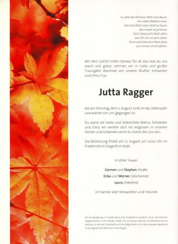 Jutta Ragger