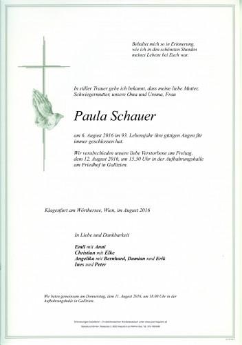 Paula Schauer