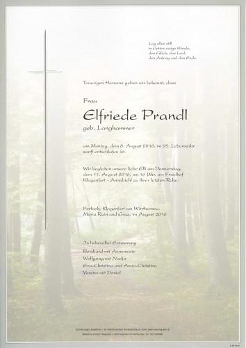 Elfriede Prandl