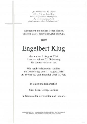 Engelbert Klug