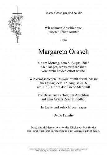 Margareta Orasch